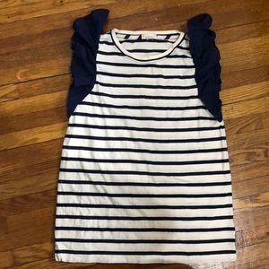 Striped Crewcuts sleeveless top